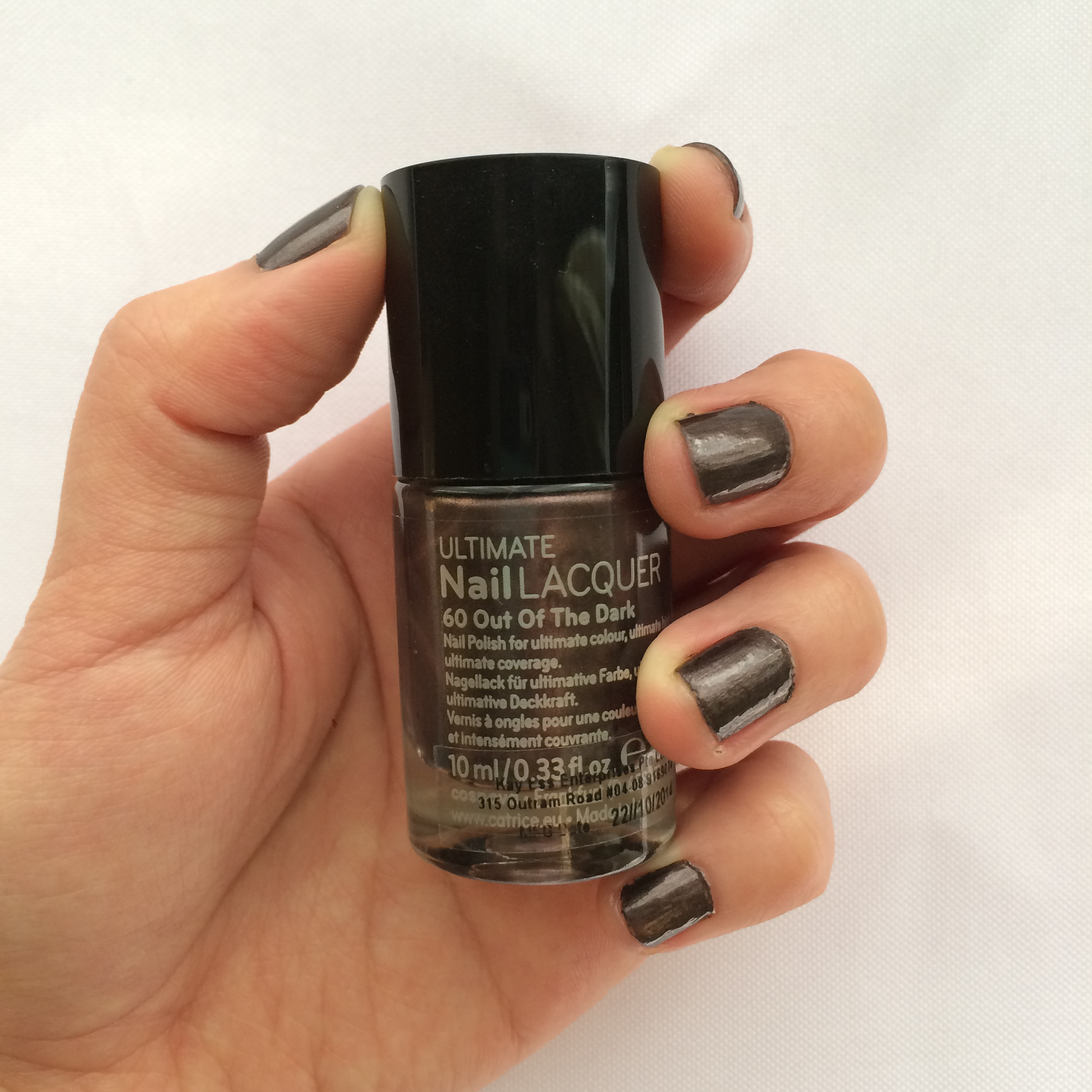 Review: Catrice Nail Polish in #60 Out of The Dark